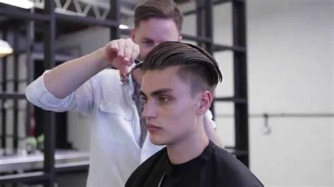 morris motley  rory pierce undercut haircut tutorial