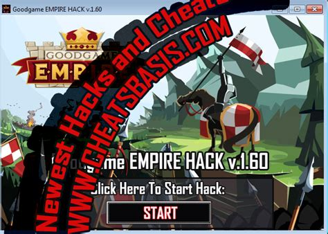goodgame empire hack tool download without survey