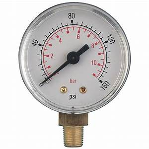 Water Pressure Guage Plumbing Adapter