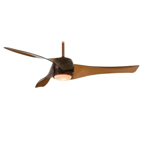 minka aire f803 cpbr copper bronze artemis ceiling fan