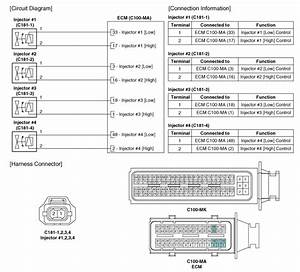 Kia Soul  Injector  Schematic Diagrams