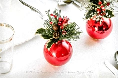 diy christmas table decorations pink lover