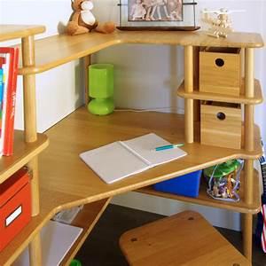 Bureau D Angle Enfant : bureau d angle modulable maison design ~ Teatrodelosmanantiales.com Idées de Décoration