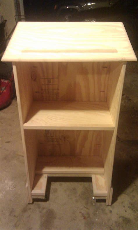 woodwork   build  simple lectern  plans