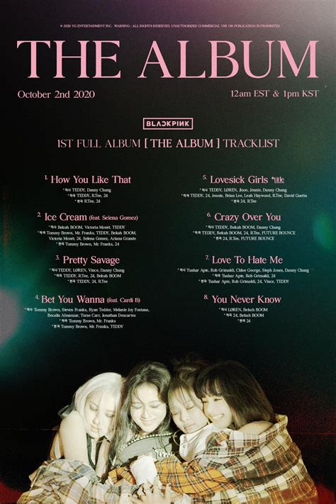 ★ mp3ssx on mp3 ssx we do not stay all the mp3 files as they are in different websites from. BLACKPINK - The Album Leaked Tracklist (Confirmed) - K-Pop Database / dbkpop.com