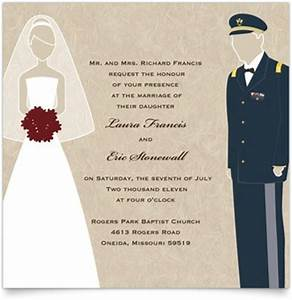 flat square wedding invitations military themed army With wedding invitation marine design
