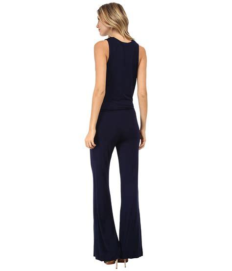 fabulous and jumpsuit lyst fabulous lisle jumpsuit in blue