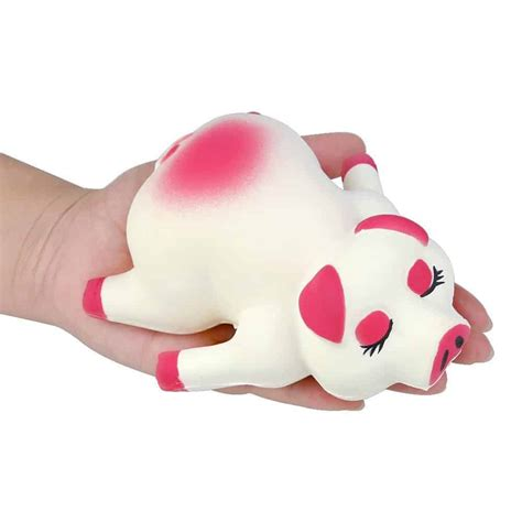pig squishy jumbo squishies rising toy for children the piggy store