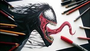 Drawing Venom Speed Drawing MUNDO DIBUJOS YouTube