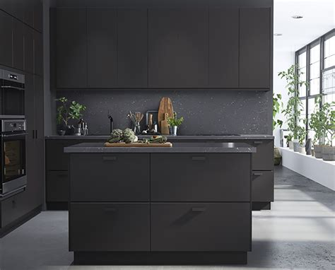 matte black kitchen cabinets ikea february 2017 new collection preciously me 7403