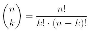 hilfetext binomialkoeffizienten