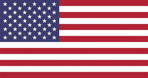united states flag vector country flags