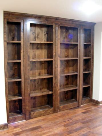 Swinging Bookcase by Swinging Bookcases Kc Wood