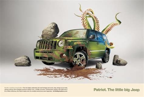 jeep print ads jeep patriot quot octopus quot print ad by cutwater san francisco