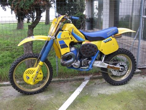 Suzuki Rm 500 by Suzuki Rm 500 Cc Classic Motocross Dirt