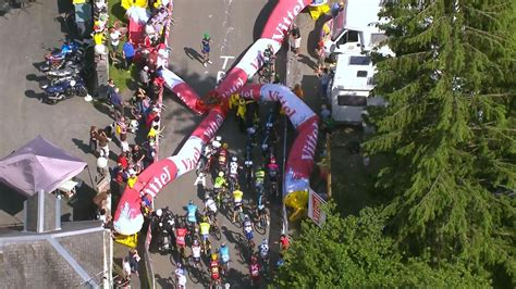 video flamme rouge collapses   de france