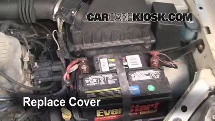 batterie ford focus battery replacement 2000 2004 ford focus 2000 ford focus se 2 0l 4 cyl sedan