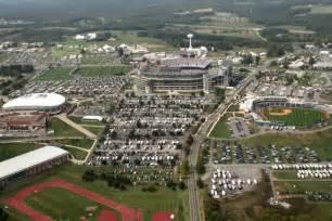East Parking Deck Penn State by University Park Aerial Views 2008 Penn State University