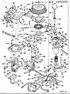 Evinrude Outboard Parts By Hp 200hp Oem Parts Diagram For