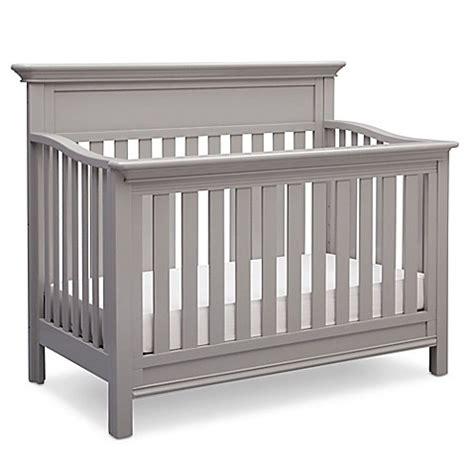 serta crib mattress serta 174 fernwood 4 in 1 convertible crib in grey bed bath