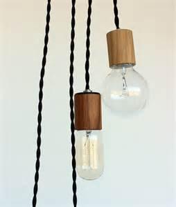 items similar to wood veneered pendant light with 12 cord