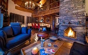 Modern Ski Chalet Living Room Viahouse Com