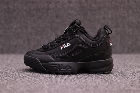 Sepatu Fila Black fila disruptor 2 white in s and s size