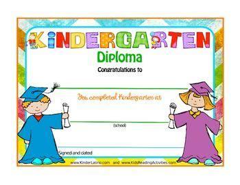diplomas  pre     images kindergarten