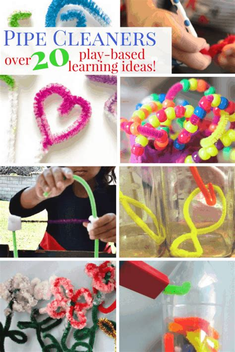pipe cleaner crafts  activities twitchetts