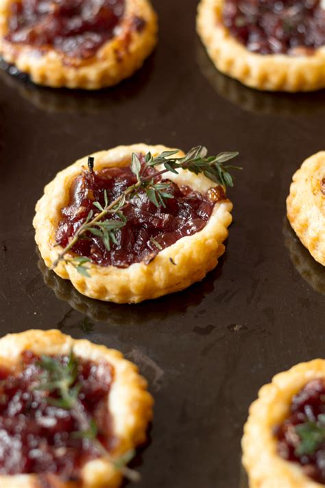 canapes and nibbles confit tartlets a cuisine