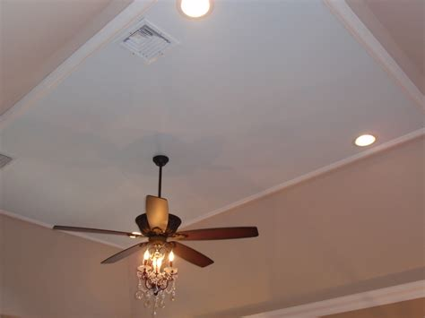 ceiling fan with chandelier light diy by design master bedroom