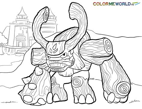 Kleurplaat Skylanders Superchargers by Skylanders Printable Coloring Pages For Az Coloring