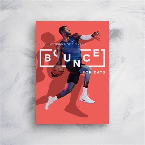 nike bounce  days product poster  venngage