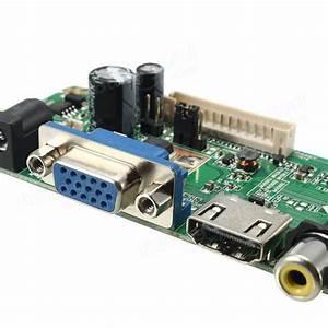 V29 Universal Lcd Controller Board Tv Motherboard Vga  Hdmi  Av  Tv  Usb Interface