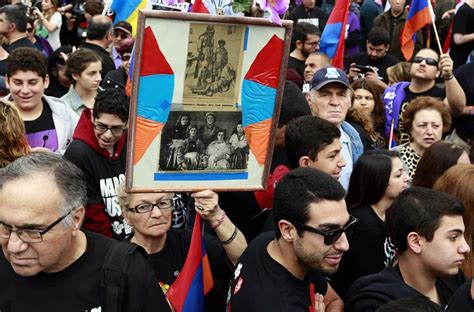 Armenians Ottoman Rule by Thousands March In Los Angeles To Commemorate Armenian