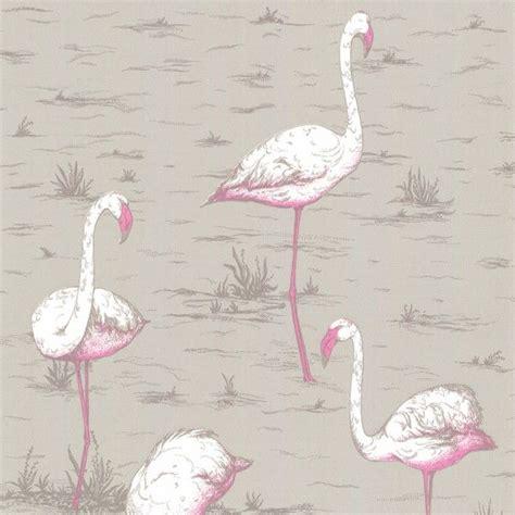 Tapisserie Flamant by Flamant Hey Flamingos Papier Peint Papier Peint