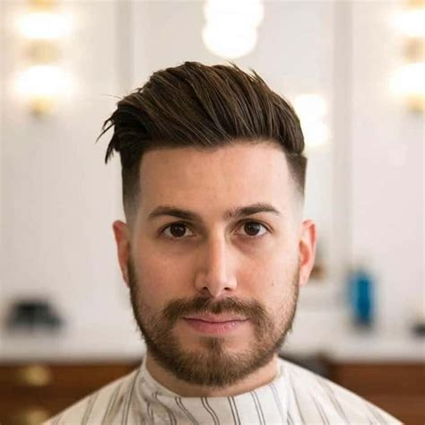 25 best hairstyles for men with chubby round face shapes