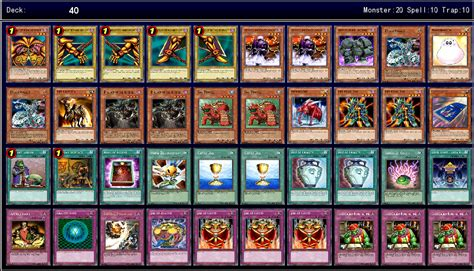 exodia deck ygopro structure ygoprodeck forbidden