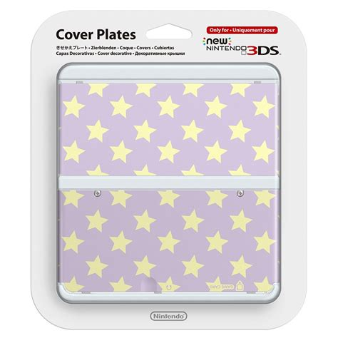 new 3ds cover plates new nintendo 3ds cover plates no 017 purple yellow