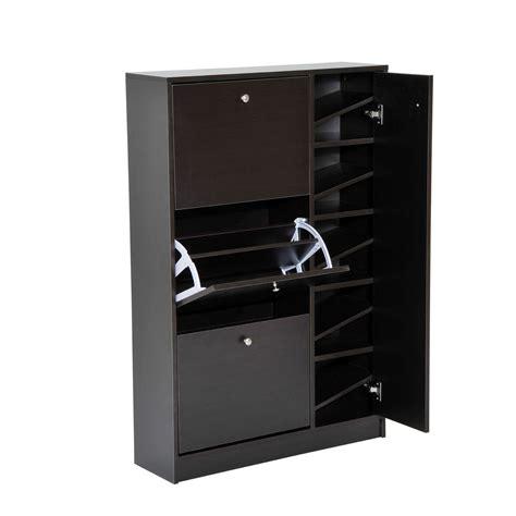 Entryway Shoe Cabinet Organizer Closet Storage Rack Shelf