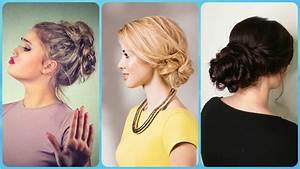 Top 20 svečane frizure za dugu kosu podignute - YouTube