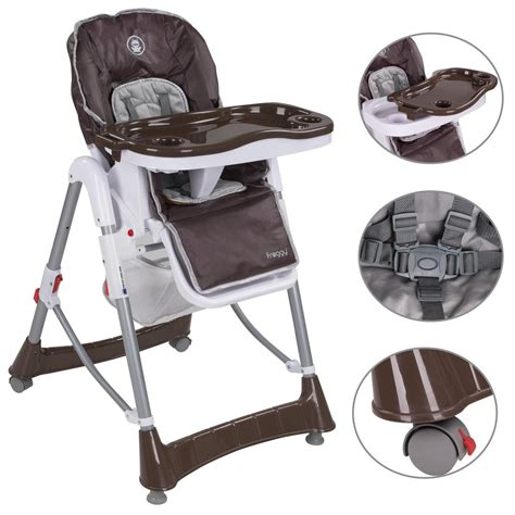 siege pour chaise haute chaise haute pour bébé réglable ebay