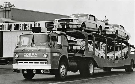 1966 ford coe ct950 semi tractor day cab car carrier