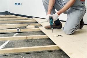 Realiser Un Plancher Bois : plancher ossature bois avantages pose conseils ooreka ~ Dailycaller-alerts.com Idées de Décoration
