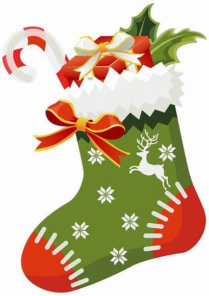 Stocking Christmas Clipart Getdrawings
