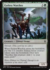 so you want to build with eldrazi magic the gathering
