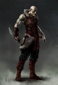 ArtStation - Viking Assassin, Steve Hong