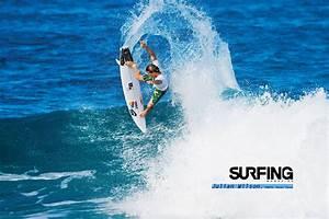 Surfing Magazine April Surf Wallpaper | SURFBANG