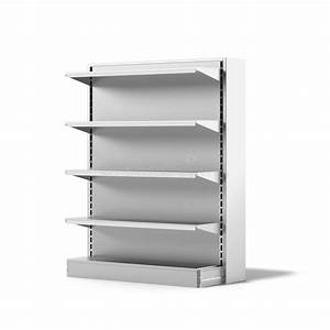 Empty Retail Store Shelf stock illustration. Illustration ...