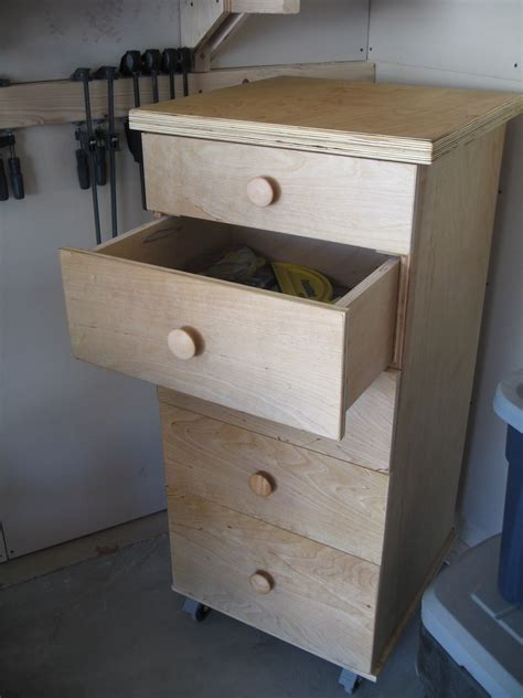 ana white work shop storage drawers diy projects